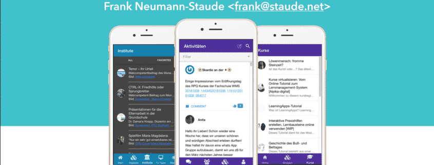 Wccgn Mobile Apps Mit Wordpress Staude